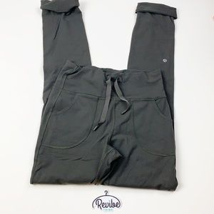 Lululemon Black Drawstring Waist Travel Pant D3523